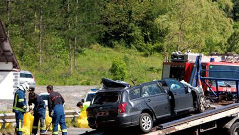 Padre e hijo mueren en el accidente