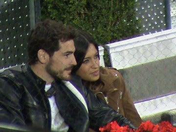 Iker y Sara en el Master Series