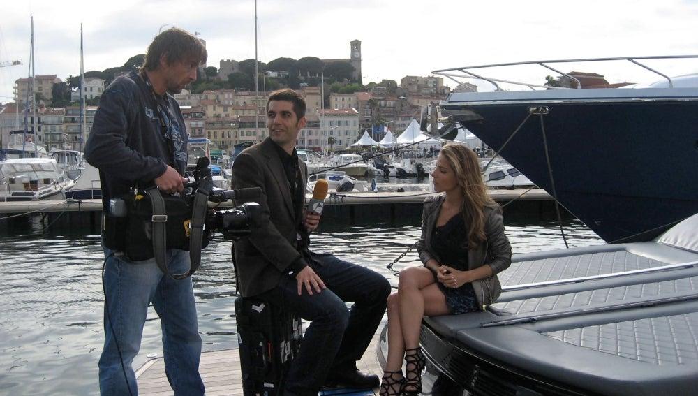Elsa Pataky y Gonzalo del Prado en Cannes