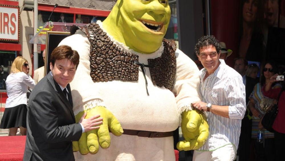 Shrek en Hollywood
