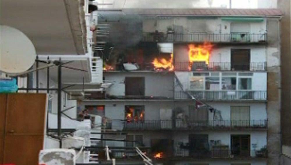 El día después de la explosión