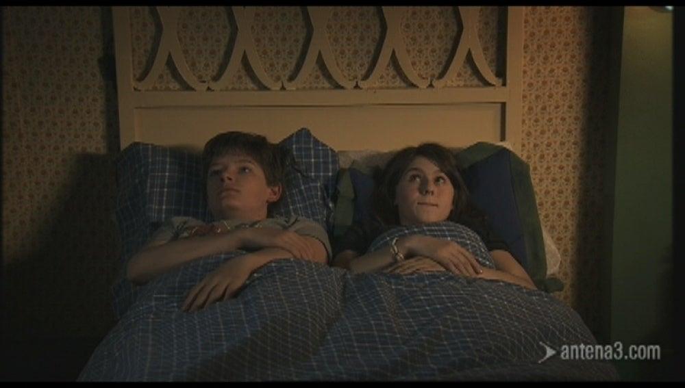Duermen juntos