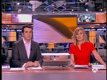 Luis Fraga y Sandra Golpe