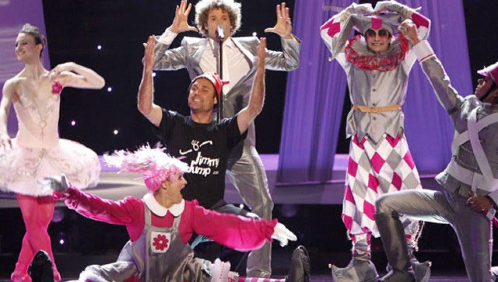 Jimmy Jump boicotea Eurovisión
