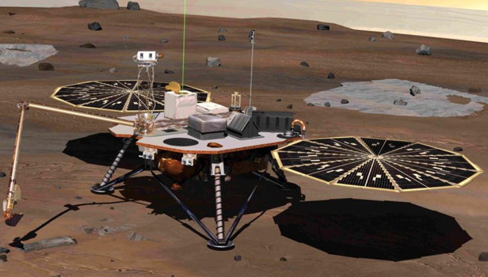 Vida en el planeta Marte