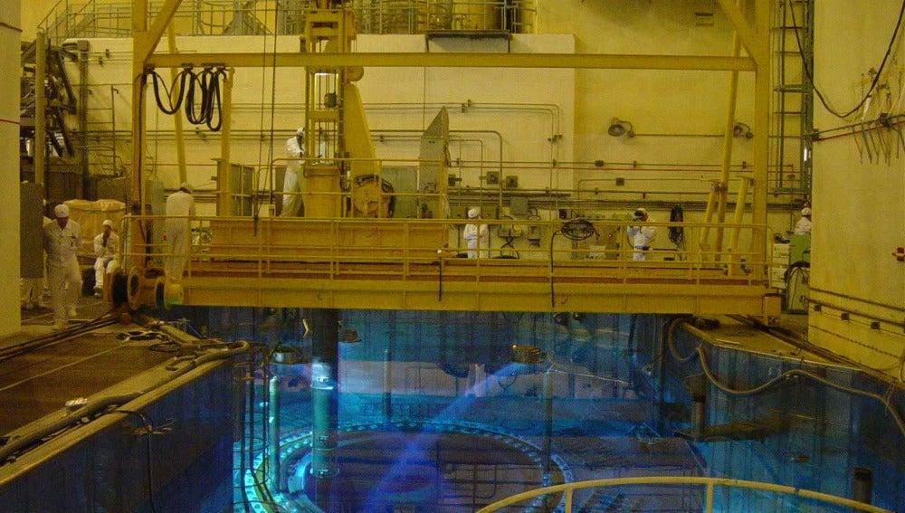 Interior de la central de Almaraz