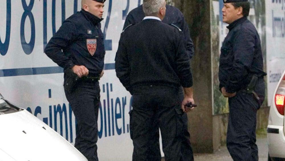 Gendarmes franceses
