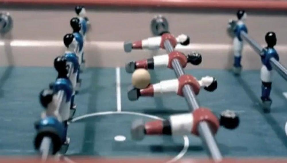 Los reyes del futbolín