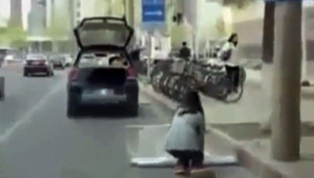Curioso aparcamiento