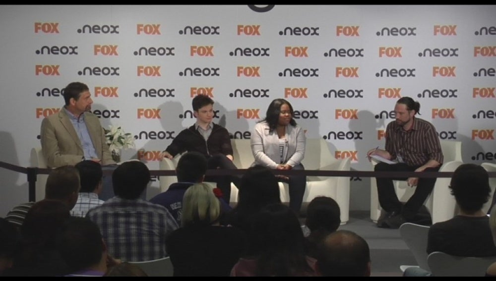 Evento fan con los actores de Glee - Parte 2