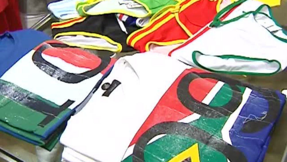 La ropa del Mundial