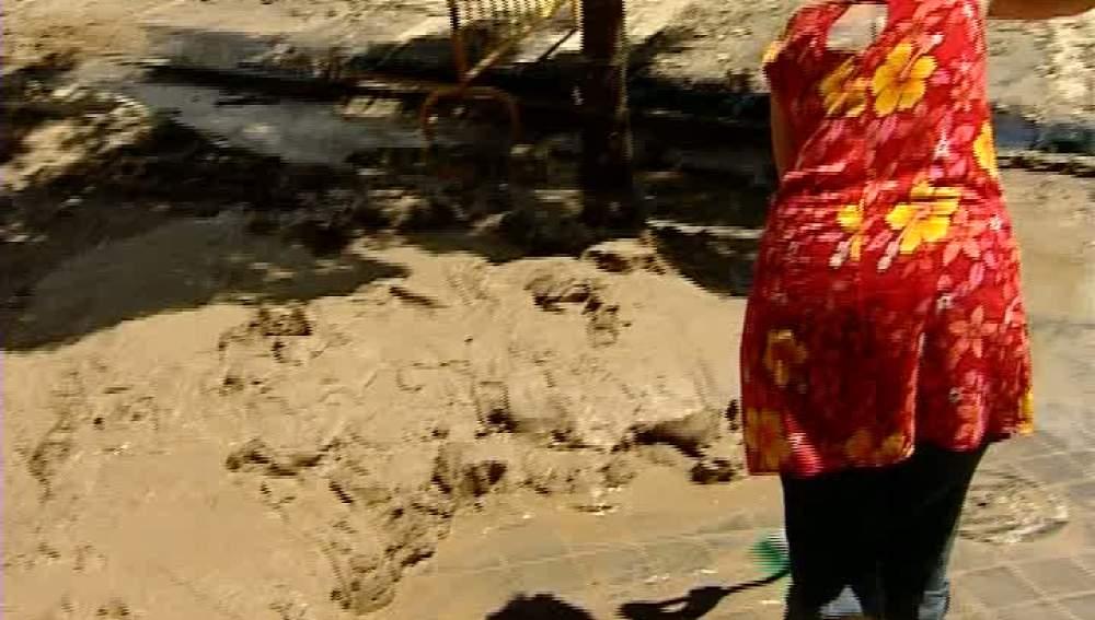 Inundaciones en Villaverde