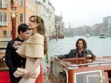 Angelina Jolie y Jonnhy Depp