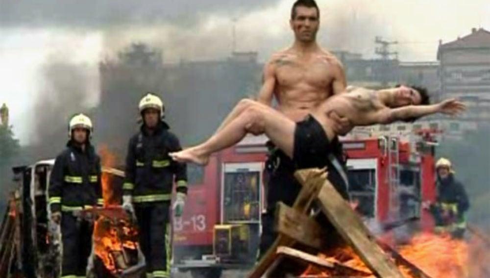 Calendario de bomberos de Bilbao