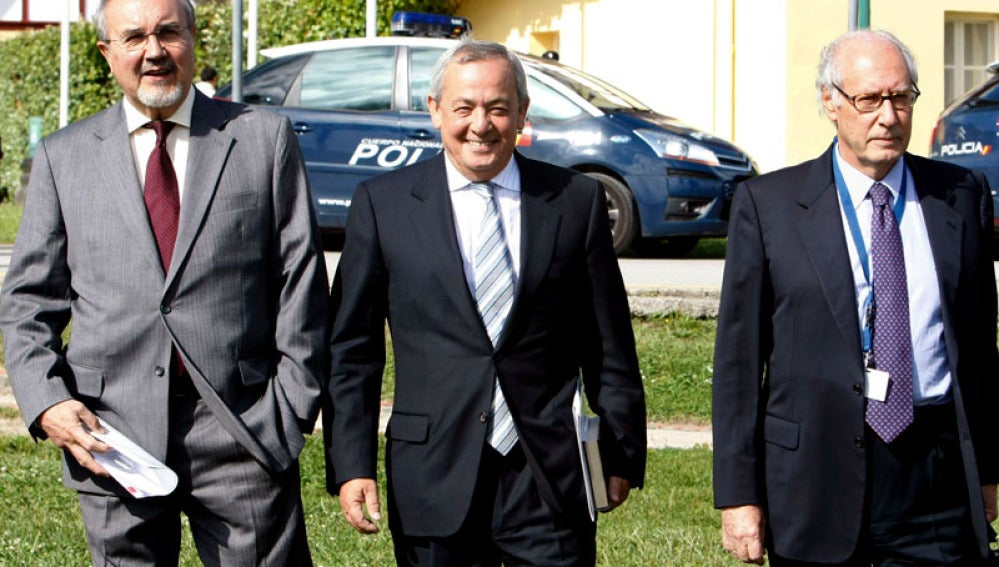 Solbes, Solchaga y Boyer en Santander