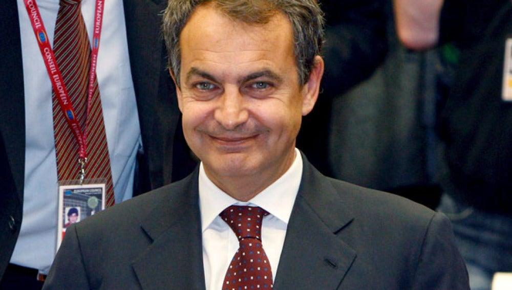 Zapatero en el Consejo de la UE