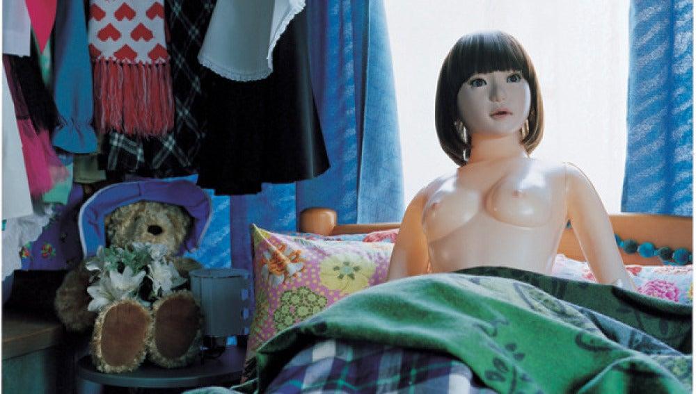 'Air Dol', una novia de plástico