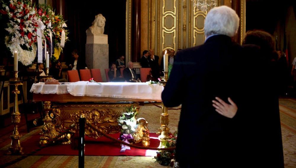 Saramago descansa en Portugal