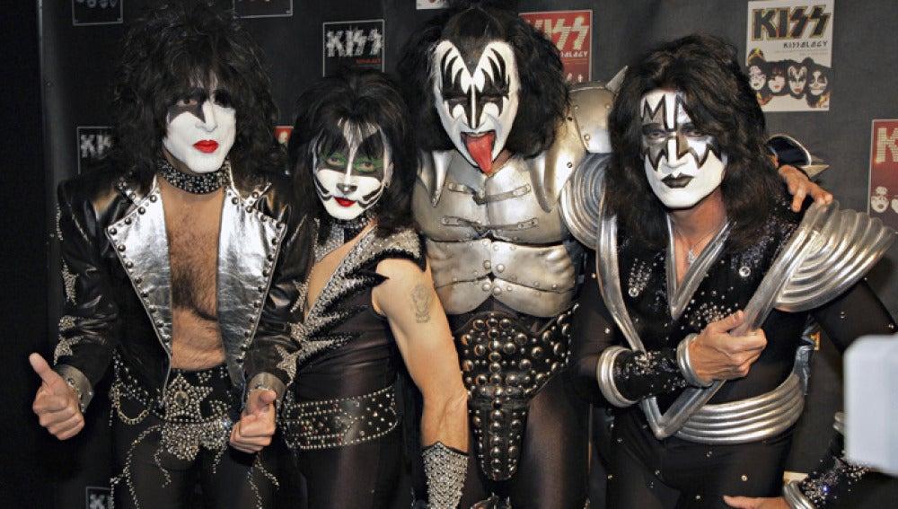 El grupo Kiss