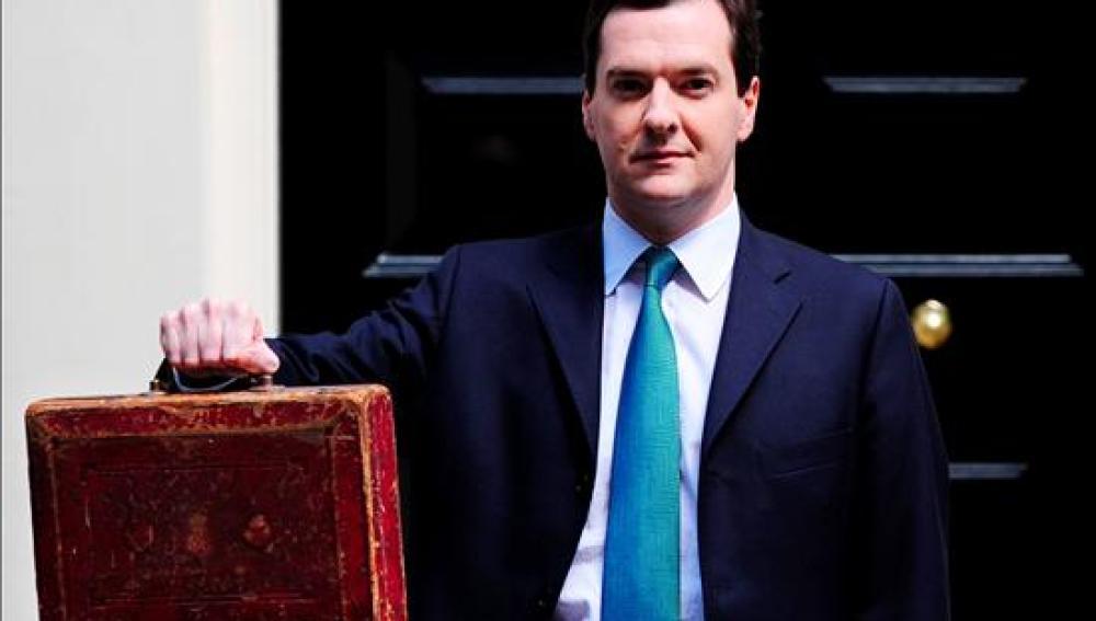 Osborne, ministro británico de Economía