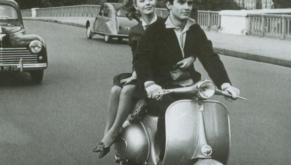 La mítica motocicleta ha protagonizado multitud de escenas cinematográficas.