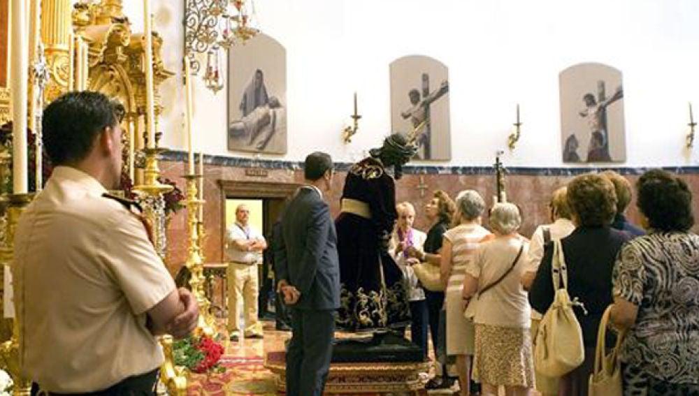 Jesús del Gran Poder vuelve a su basílica