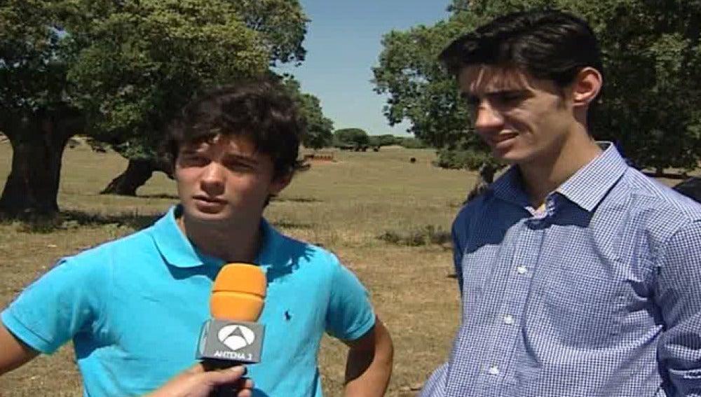 Víctor Barrio y Juan del Álamo