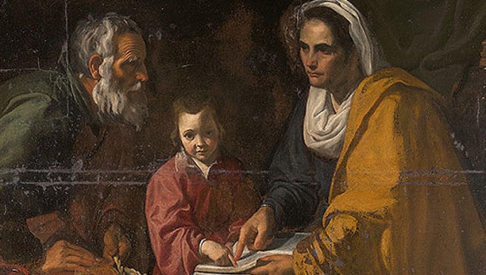 'La educación de la Virgen'