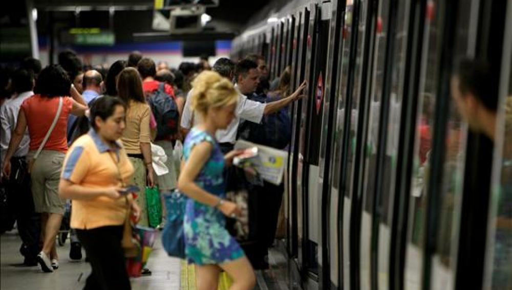 Normalidad en el metro