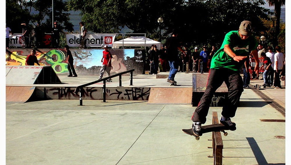 Skaters en Barcelona