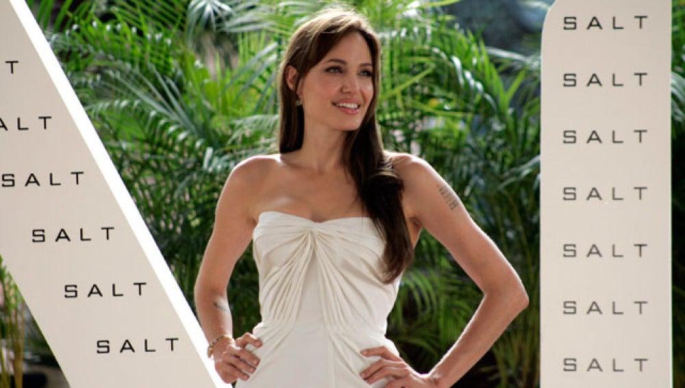 Angelina Jolie en México