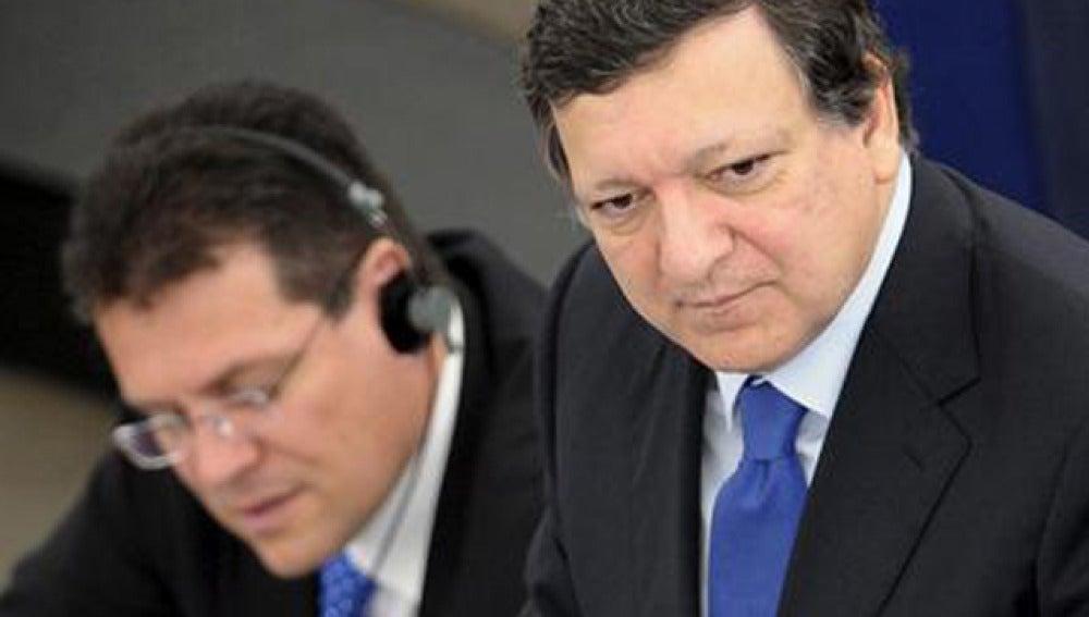 Durao Barroso en Estrasburgo
