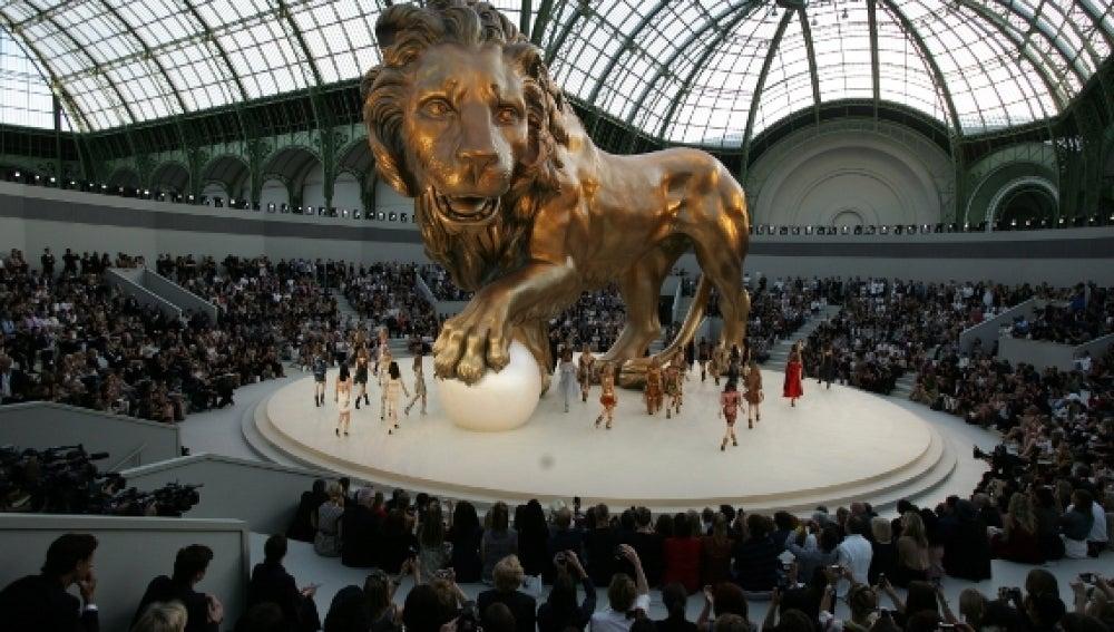 Desfile de Chanel en parís