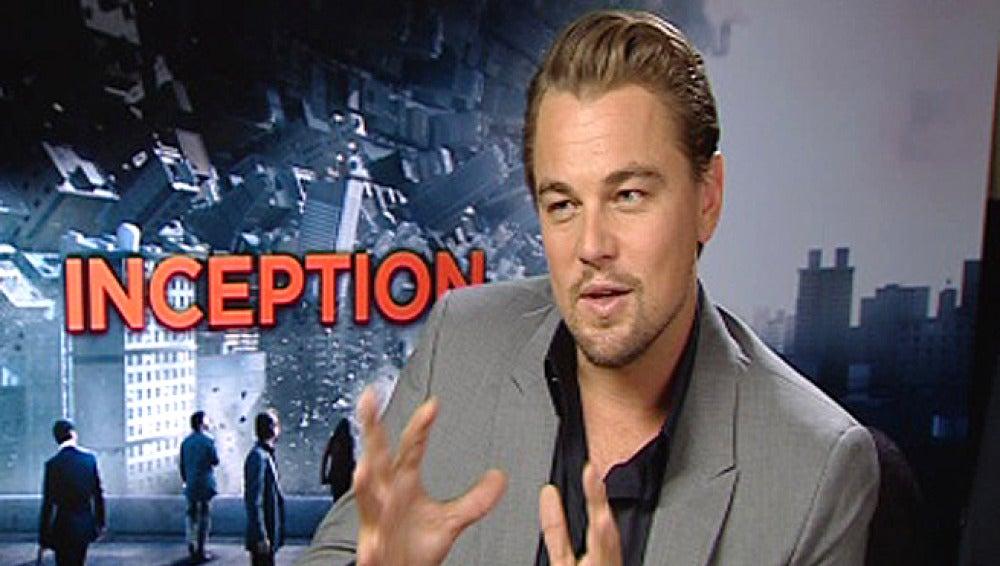 DiCaprio explica su papel en Origen.
