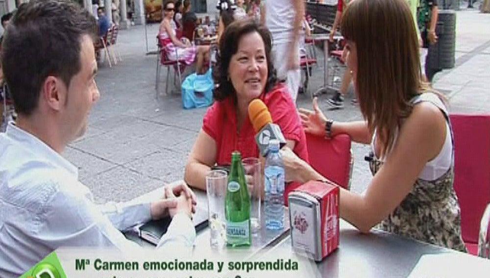 Encontramos a Mª Carmen, madre de Maria Luisa