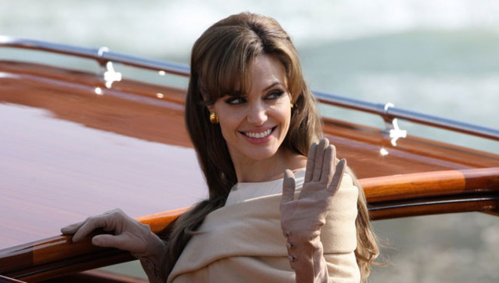 Angelina Jolie en The Tourist
