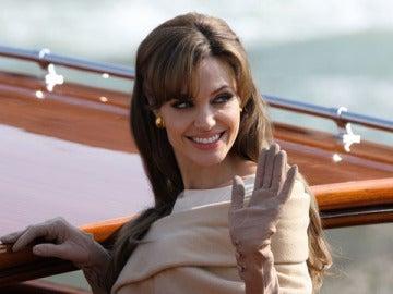 Angelina Jolie en The Tourist