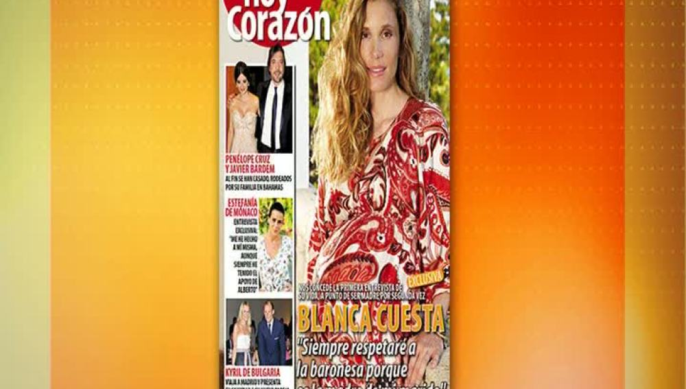 Blanca Cuesta habla claro