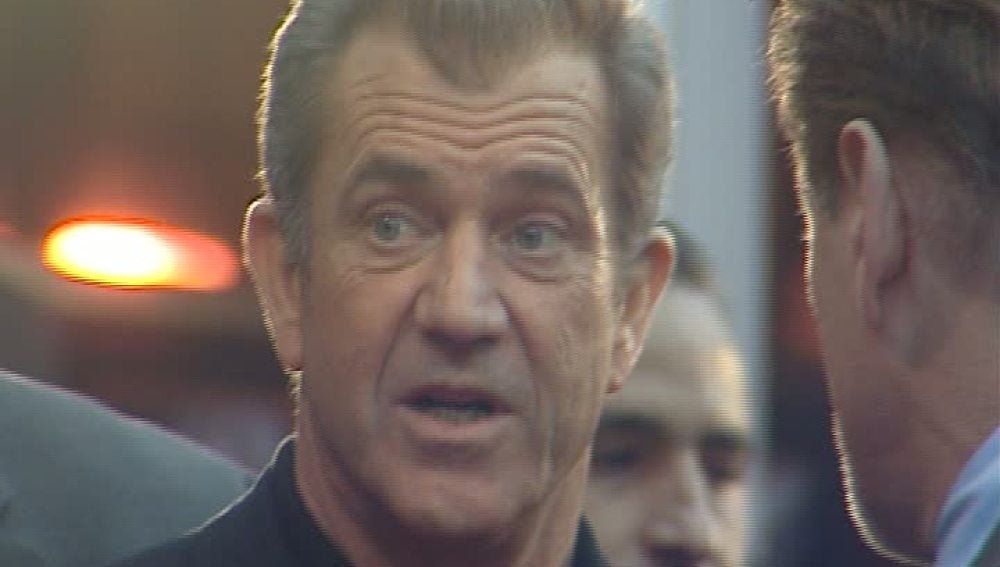 Mel Gibson, hundido