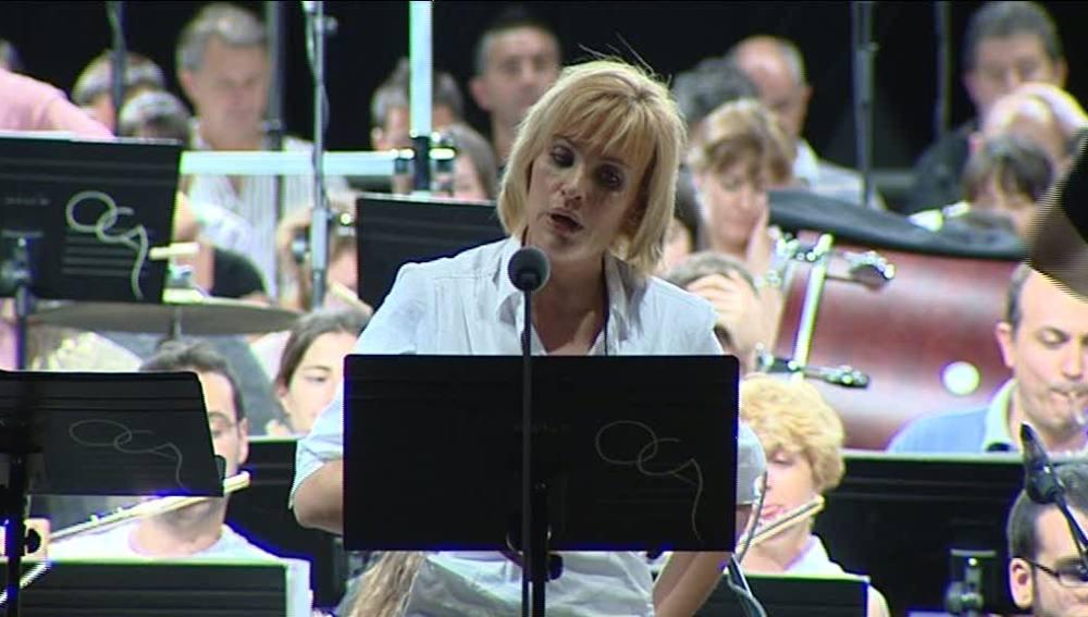 Ainhoa Arteta en el concierto de Alcalá