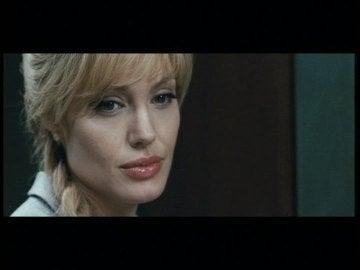 Angelina Jolie en su película 'Salt'