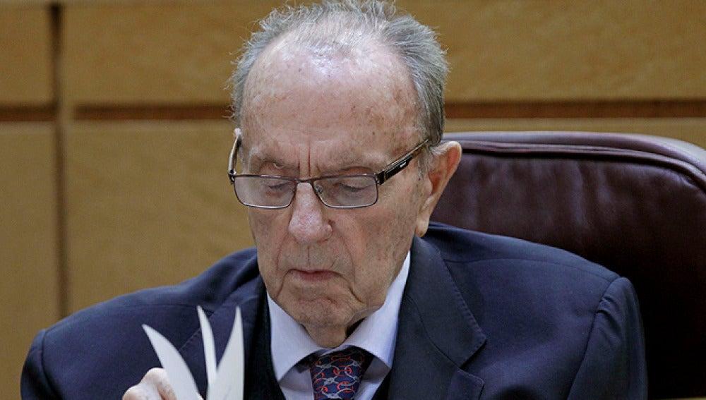 Manuel Fraga durante su intervención