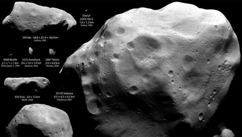Imagen radar del asteroide