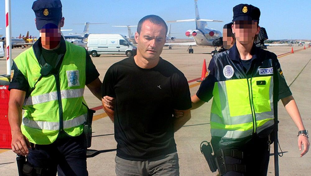 Juan Antonio Olarra Guridi llega a España