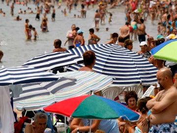 Playa de Santa Pola en Alicante