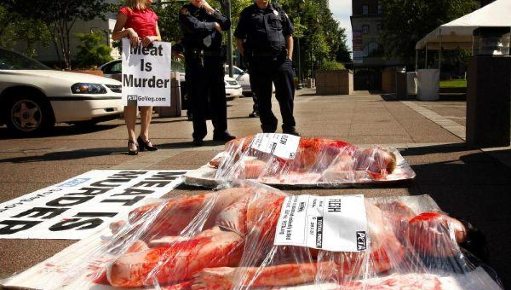 La carne es muerte