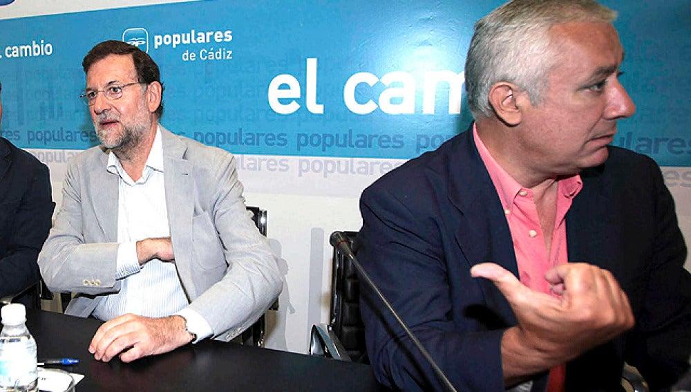 Rajoy y Arenas en Cádiz