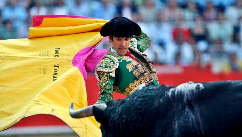 José Tomas en la Monumental de Barcelona