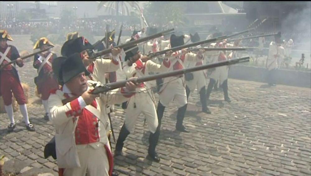 Santa Cruz de Tenerife conmemora la batalla de Nelson en 1797