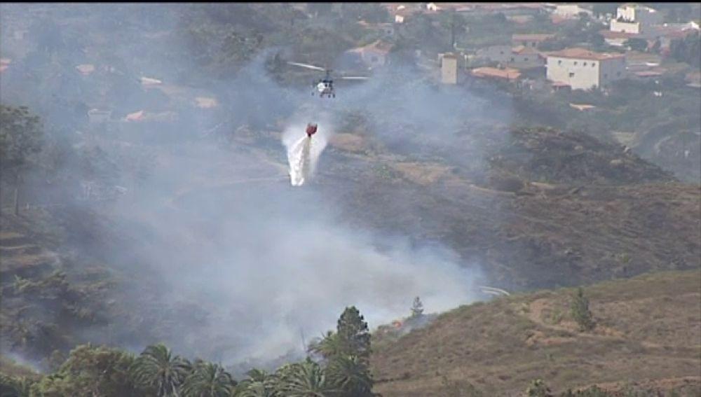 Se cumplen tres años de los devastadores incendios que afectaron a Gran Canaria y Tenerife